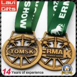 記念品のギフトのための高品質の締縄の金属メダル