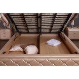 Кровать кожи цвета пинка младенца для пользы спальни (FB2103)