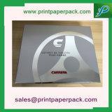 Dos pedazos de la cartulina del rectángulo de papel rígido de embalaje/rectángulo de regalo