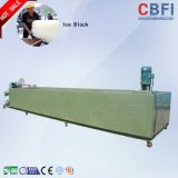 5000 Kg / Day Large Block Ice Machine para Manter Fresco