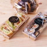 Sushi de pp/conteneur nourriture en plastique clairs remplaçables de pain/gâteau