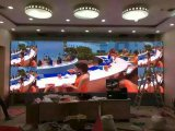 Afficheur LED d'intérieur précis de location de technologie neuve