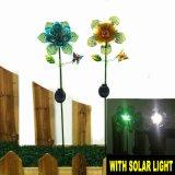 Mestiere all'ingrosso del palo del metallo con l'indicatore luminoso solare della sfera di vetro