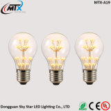 SAA A19 2W E27 wärmen weiße Glühlampe LED-Edison
