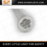 Seguridad de tráfico Recargable Multifuncional Policía Alarma Silbato Advertencia Flash LED Baton
