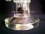 Cachimbo de água de vidro do diodo emissor de luz Shisha do tabaco da fábrica de A034 China para a água de vidro