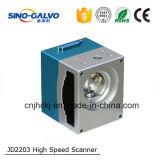 二酸化炭素のマーキング機械のための高速スキャンGalvoヘッドJd2203