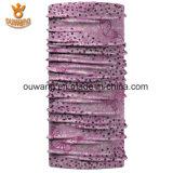 Écharpe universelle de tube de collet de Microfiber tricotée par qualité