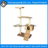Fabrik-Großhandelshaustier-Produkt-Katze-Bäume mit starkem Aufbau