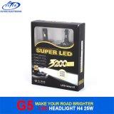 Phare du phare 25W 3200lm H4 H/L DEL de véhicule pour le véhicule et la moto avec la conformité de RoHS de la CE