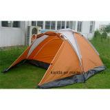 2 Personen-einlagiges kampierendes Zelt mit 3 Polen