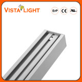 Éclairage linéaire pendant en aluminium de l'extrusion 30W DEL pour des usines