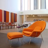 자궁 의자 현대 거실과 침실 단 하나 의자