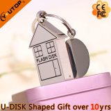 不動産の昇進のギフトの金属の家USB Pendrive (YT-1245)