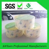 強い付着力のカスタムロゴの極度の明確な印刷OPPのパッキングテープ