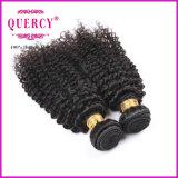 Longueurs mélangées crépues de vente chaudes de cheveux humains d'enroulement de pleine cuticle