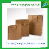カスタム方法ハンドバッグのクラフト紙袋