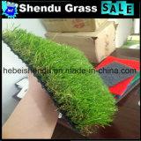 卸し売り中国の経済的な人工的な草のカーペットの緑色40mm