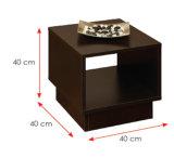Conjuntos de madera de los muebles del sitio de la base del soporte de la noche del guardarropa (HX-DR065)