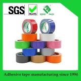 PVCファブリック布が付いている熱い溶解またはゴム系接着剤ダクトテープ