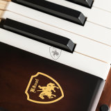 Piano droit Ka-125D, couleur de Brown, de Chine
