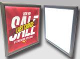 El LED estupendo adelgaza el rectángulo ligero del marco rápido para hacer publicidad