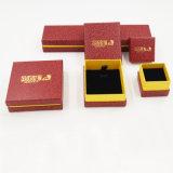 Rectángulo de joyería de empaquetado del regalo de la venta de la cartulina caliente del papel (J04-E1)