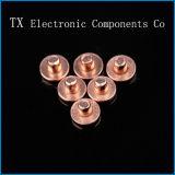 Contatos elétricos bimetálicos elevados do índice Agsno2