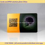 Couleurs complètes Impression Transparent carte PVC pour carte de visite