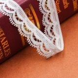 Perles fines de cordon en dentelle et cordon jaune pour fête