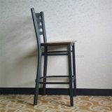 Трактир оптовой античной структуры металла типа деревянный обедая стул штанги (SP-LC286)