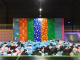 Парк Trampoline пригодности крытый с взбираясь игрушкой для детей