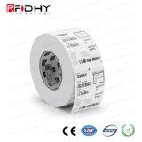 Escritura de la Etiqueta de la Etiqueta Engomada de RFID para la Logística y Empaquetar