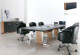 Gabinete de armazenamento moderno do livro do folheado da mobília de escritório 2017 (C6)