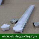 Profilo piano poco profondo dell'alluminio del LED