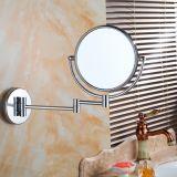 Het regelbare Muur Opgezette Messing maakt omhoog Spiegels voor Badkamers