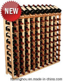 جديدة تصميم 64 زجاجات خشبيّة خمر عرض حامل قفص