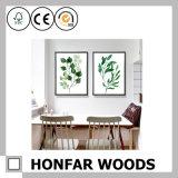 Pittura di arte con la cornice di legno per la decorazione della parete