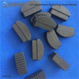 Kundenspezifisches Produkt-Schwarzes PU-Aluminiumstrichleiter-Schutzkappen der Längen-70mm