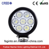 70W Auto LED Scheinwerfer, runde CREE LED Fahren Arbeitslampe