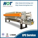 Filtre-presse économiseur d'énergie de membrane