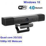 Vensters 10 van de Camera 30fps van Intel Z3735 2g/32 G 1080P @ de Slimme Doos van TV