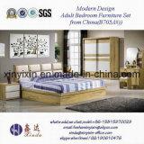 2017 späteste Luxushotel-Schlafzimmer-Set-Möbel mit Leder (705A#)
