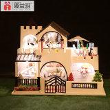 2017 nuevo diseño de madera casa de muñecas Juguetes