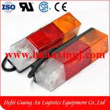 3개의 색깔을%s 가진 Tcm 지게차 LED 테일 빛 24V