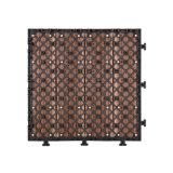 Plastica di legno di migliore Decking 2016 che collega vendita calda di pavimentazione di prezzi poco costosi compositi delle mattonelle nel Pakistan