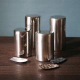 Stagno del tè del metallo di rettangolo del commestibile