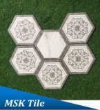 Polaire Ray Porcelain Wall&Floor Hexagon Tile