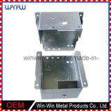 Caixa de junção pequena elétrica do cerco feito sob encomenda do aço inoxidável do metal
