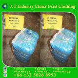 Maglietta lunga dei vestiti usati di buona qualità all'ingrosso